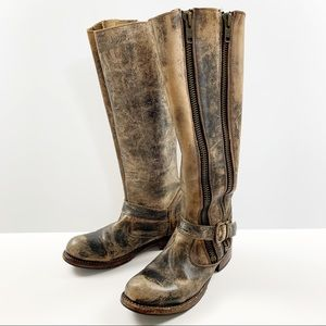 Bed Stu Cobbler Series Distressed Boots Size 7